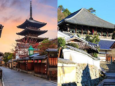 京都と奈良